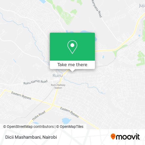 Dicii Mashambani map