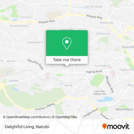 Cape Consult map