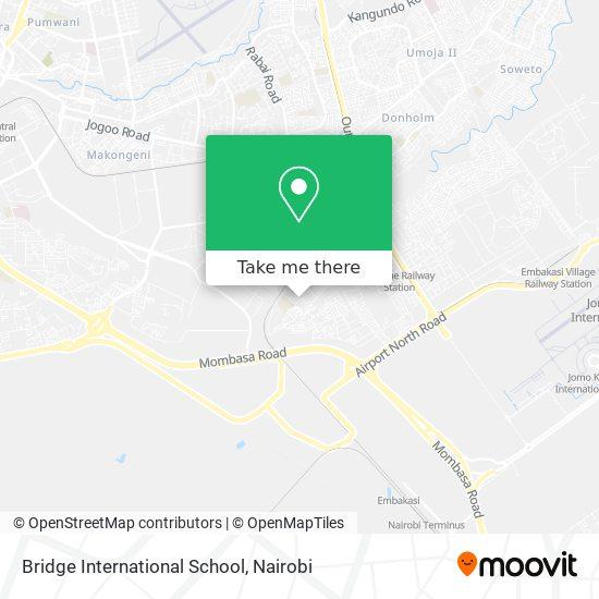 Bridge International School map