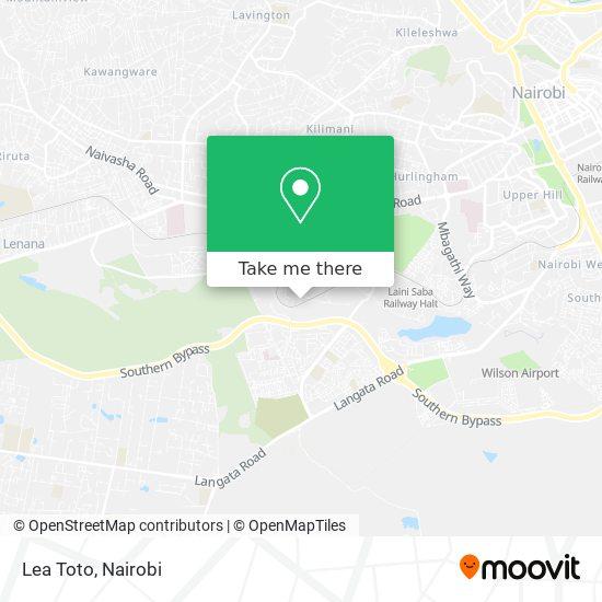 Lea Toto map