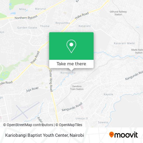 Kariobangi Baptist Youth Center map