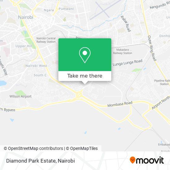 Diamond Park Estate map