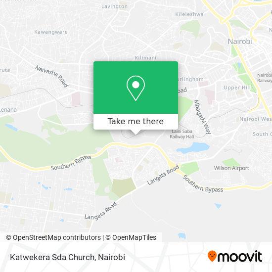 Katwekera Sda Church map