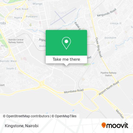 Kingstone map