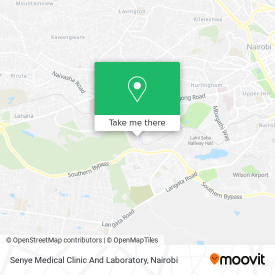 Senye Medical Clinic And Laboratory map