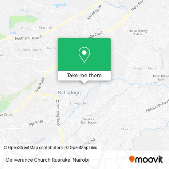 Deliverance Church Ruaraka map