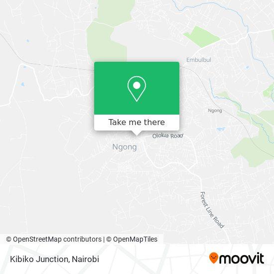 Kibiko Junction map