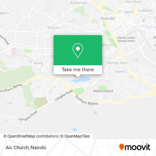 Aic Church map