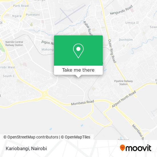 Kariobangi map