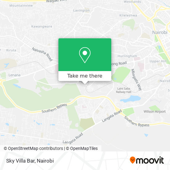 Sky Villa Bar map