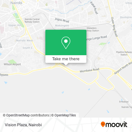 Vision Plaza map