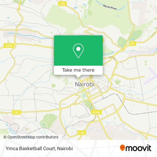 Ymca Basketball Court map