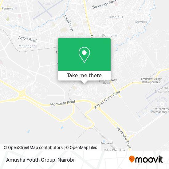 Amusha Youth Group map