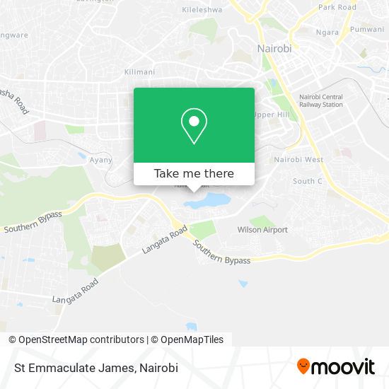 St Emmaculate James map