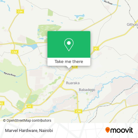 Marvel Hardware map