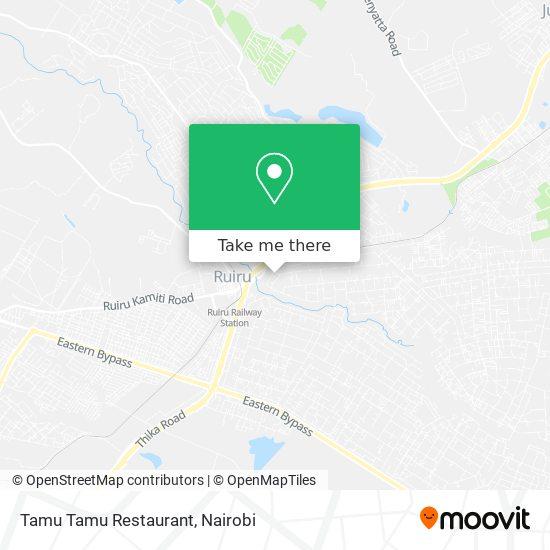 Tamu Tamu Restaurant map