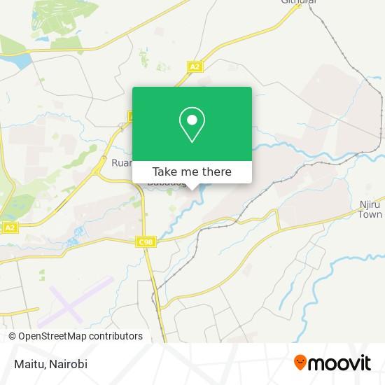 Maitu map