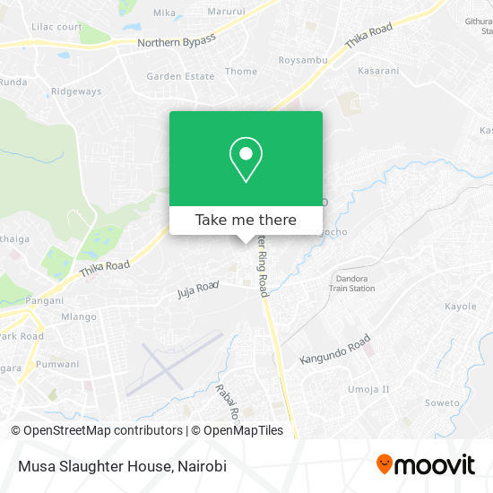 Musa Slaughter House map