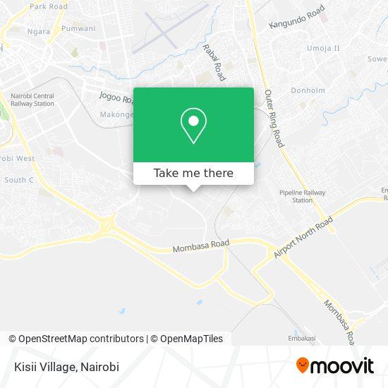 Kisii Village map