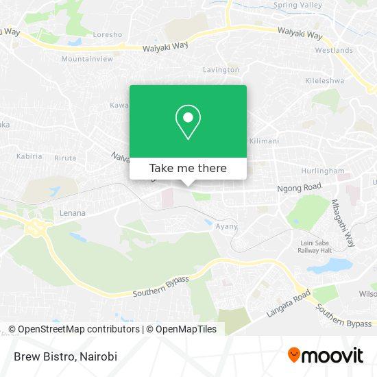 Brew Bistro map