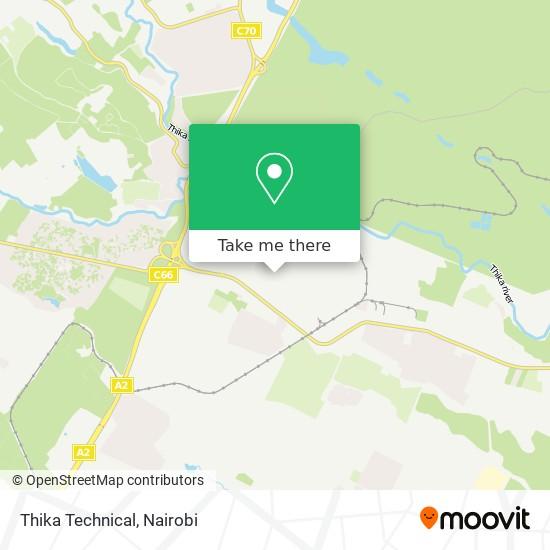 Thika Technical map