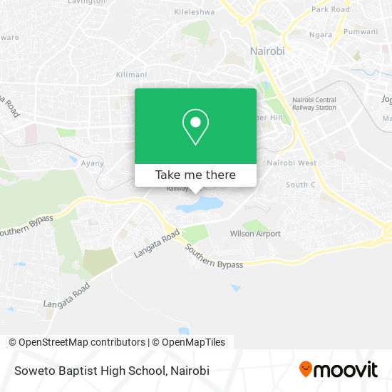 Soweto Baptist High School map