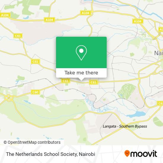 The Netherlands School Society map