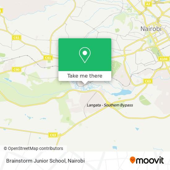 Brainstorm Junior School map