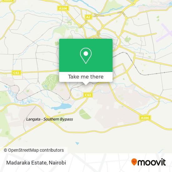 Madaraka Estate map