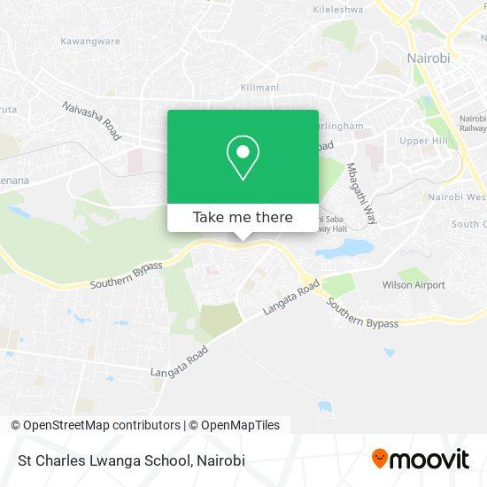 St Charles Lwanga School map