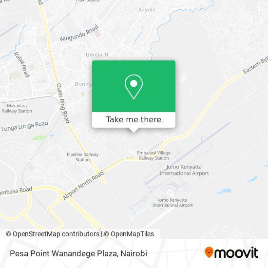 Pesa Point Wanandege Plaza map