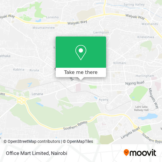 Office Mart Limited map