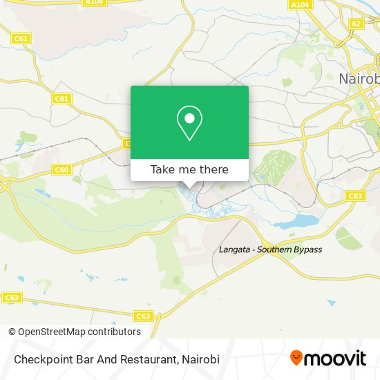 Checkpoint Bar And Restaurant map