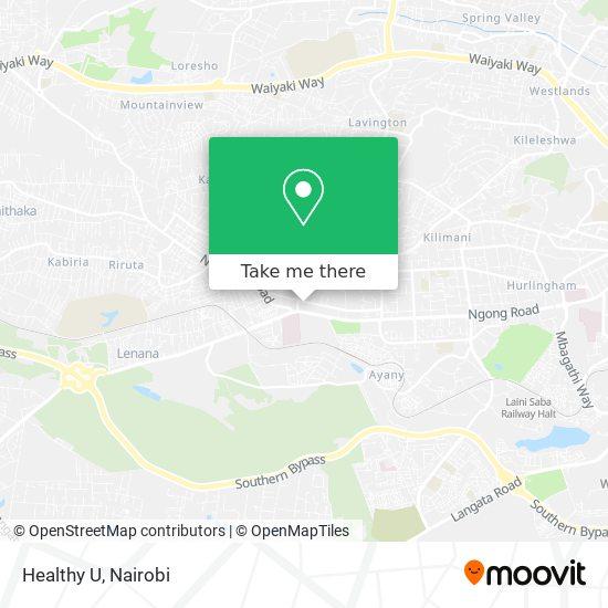 Healthy U map