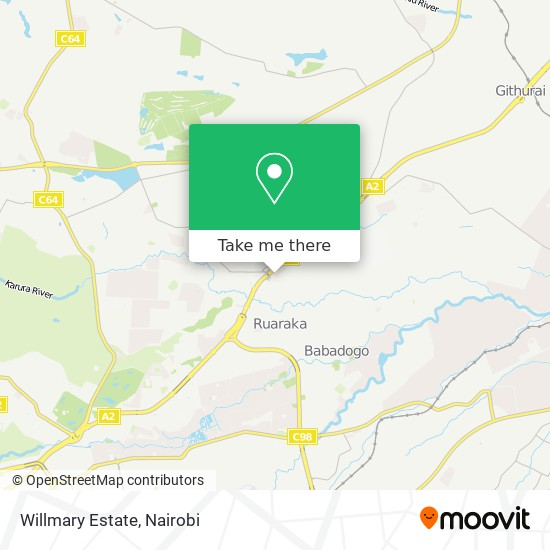 Willmary Estate map