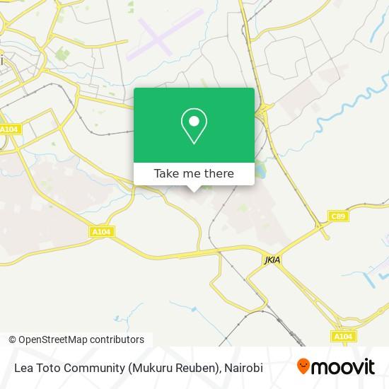 Reuben Medical Clinic & Vct Centre map