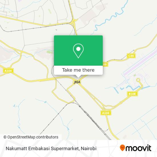 Nakumatt map