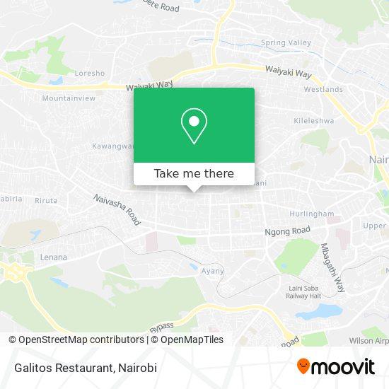 Galitos Restaurant map