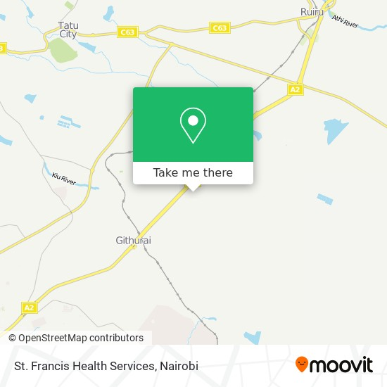 St. Francis Health Services map
