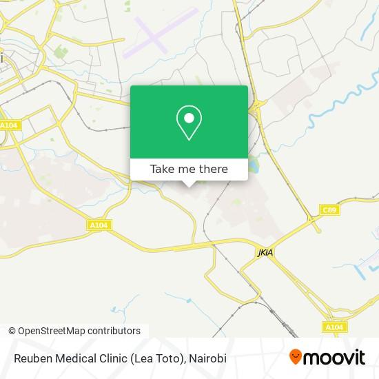 Reuben Medical Clinic (Lea Toto) map