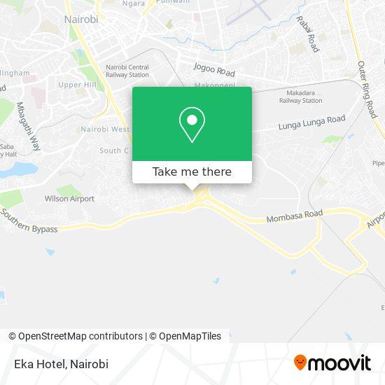 Eka Hotel map