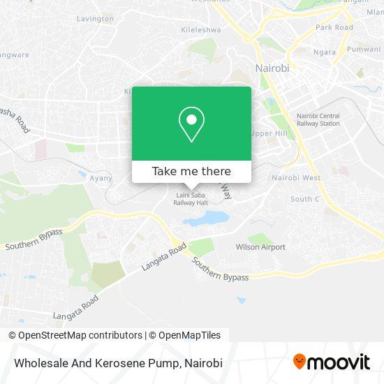 Wholesale And Kerosene Pump map