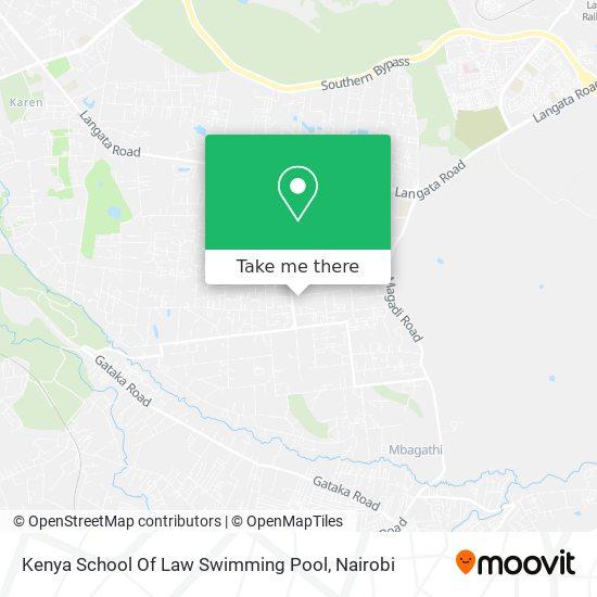 Kenya School Of Law Swimming Pool map