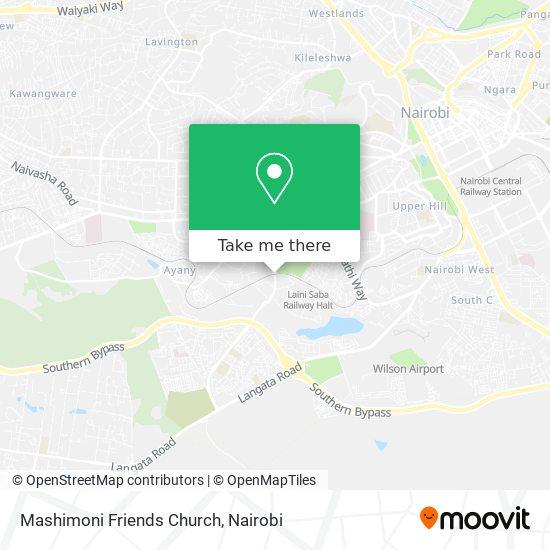 Mashimoni Friends Church map