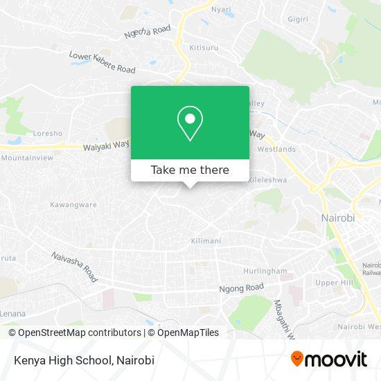 Kenya High School map