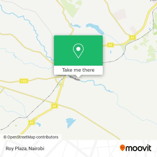 Roy Plaza map
