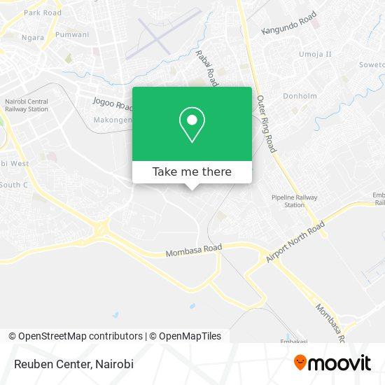 Reuben Center map