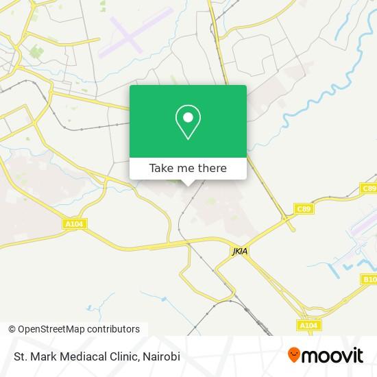 St. Mark Mediacal Clinic map