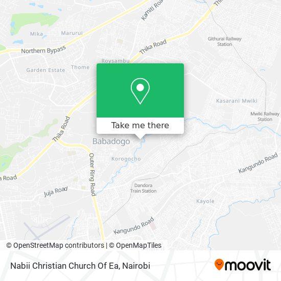 Nabii Christian Church Of Ea map