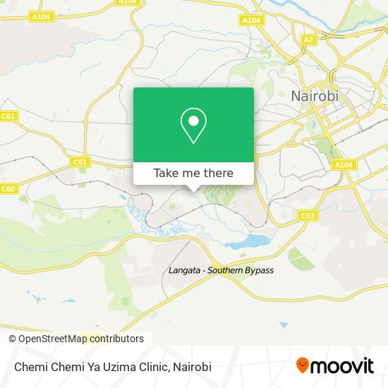 Chemi Chemi Ya Uzima Clinic map